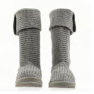 UGG Australia Grey Cardy Boots US Size 9